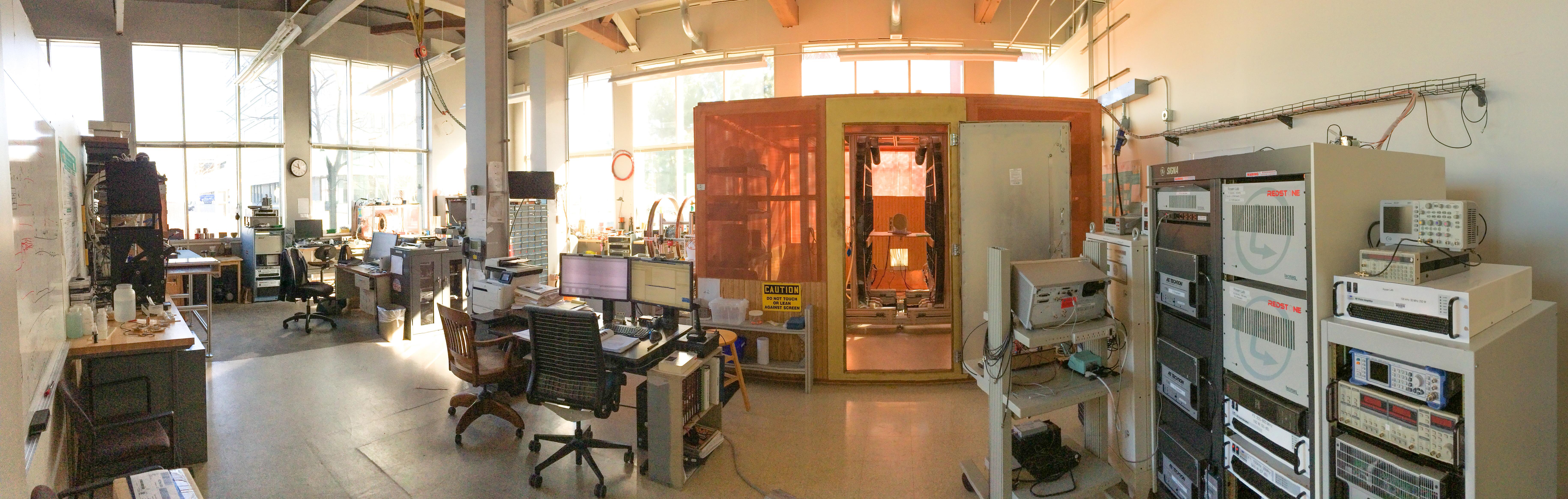Image of Dr. Matthew Rosen's Science Lab