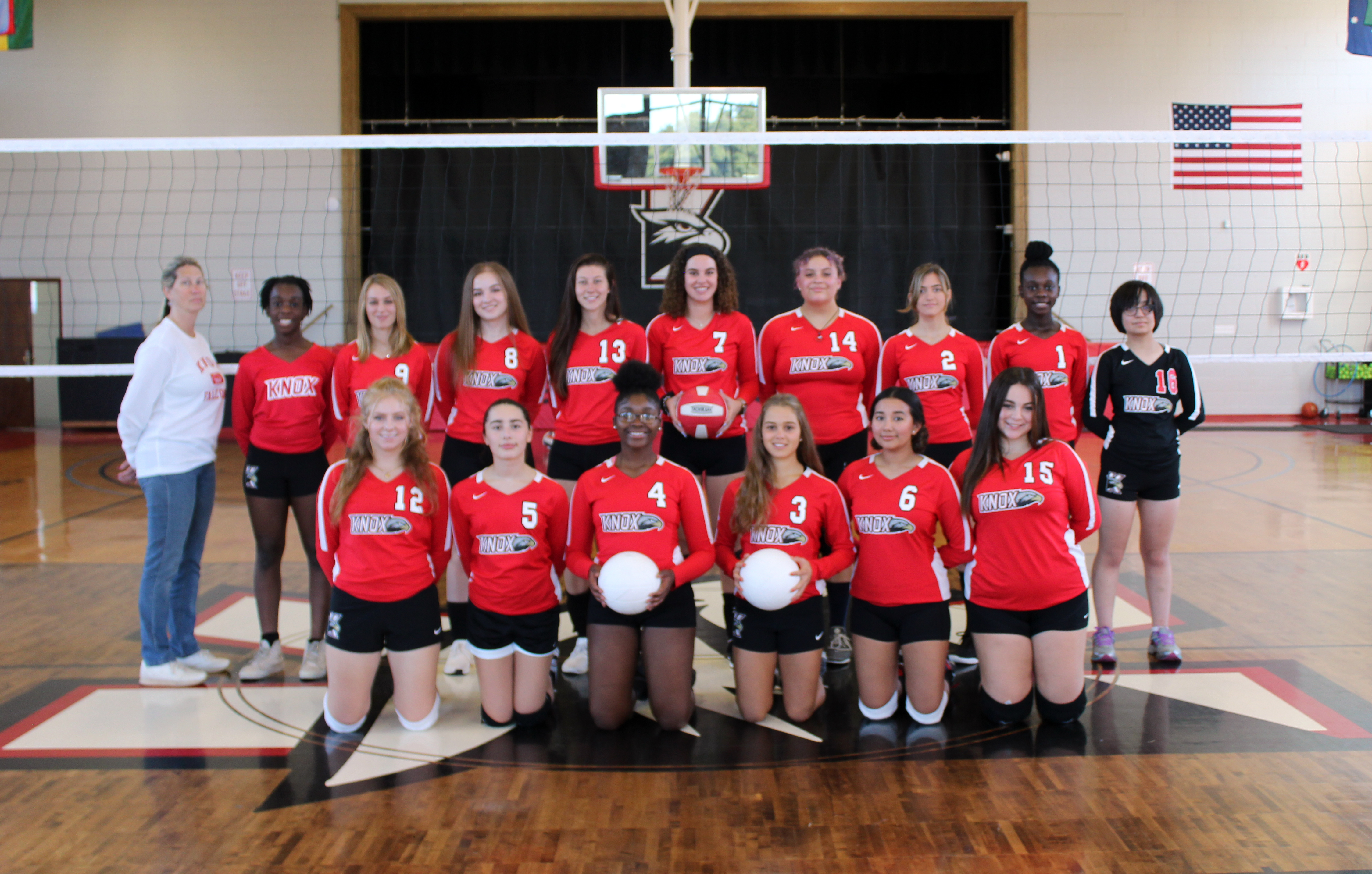 Image of Varsity Girls Volleyball Team